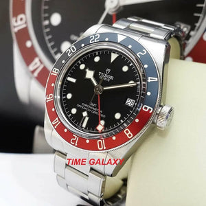 Buy Tudor Herritage Black Bay GMT Black Pepsi discount price at Time Galaxy
