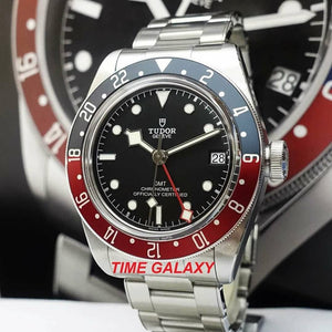Tudor M79830RB-0001, black dial, stainless steel and sapphire glass material