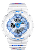 Load image into Gallery viewer, Brand new Original Baby-g x Doraemon ba-110be-7aprdl watch by Time Galaxy Watch Store in Malaysia
