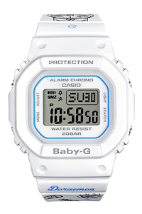 Brand new Original Baby-g x Doraemon bgd-560-7prdl watch by Time Galaxy Watch Store in Malaysia