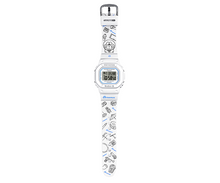 Load image into Gallery viewer, Doraemon watch embossed with cartoon style and logo on strap