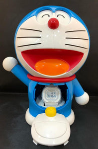 Baby-G x Doraemon watch keep in 18x23 centimeter Doraemon pocket