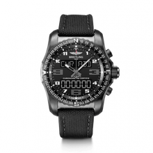 Load image into Gallery viewer, Breitling Professional Cockpit B50 Black Titanium Volcano Black Military Pin VB5010221B1W1 Watch