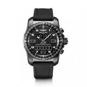 Breitling Professional Cockpit B50 Black Titanium Volcano Black Military Pin VB5010221B1W1 Watch