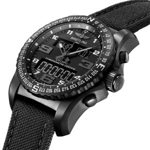 Breitling VB5010221B1W1 black dial, chronograph, countdown, flyback, rattrapante, power reserve indicator
