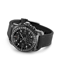 Load image into Gallery viewer, Breitling VB5010221B1W1 date, day, month, perpetual calendar, year indicator, analog and digital display