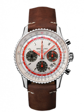 Load image into Gallery viewer, Breitling Navitimer B01 Chronograph 43 TWA Steel White Calf Folding AB01219A1G1X2 Watch