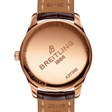 Load image into Gallery viewer, Breitling R37340351G1P1 powered by B37 caliber, ETA 2895-2 base, made of 18k Red Gold and sapphire glass