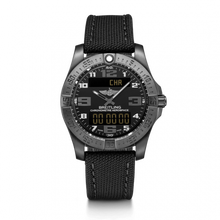 Load image into Gallery viewer, Breitling Professional Aerospace Evo Black Titanium Volcano Black Military Pin V79363101B1W1 Watch