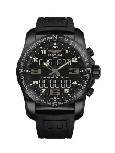 Breitling Professional Cockpit B50 Black Titanium Volcano Black Rubber VB5010221B1S1 Watch