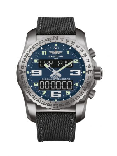 Breitling Professional Cockpit B50 Titanium Air Force Blue EB501019/C904/100W/A20BASA.1 Watch