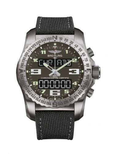 Breitling Professional Cockpit B50 Titanium Grey Military Pin VB501022/BD41/176V Watch