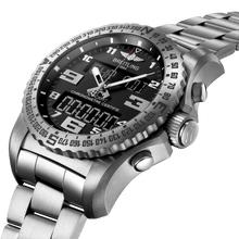 Load image into Gallery viewer, Breitling EB5010221B1E1 black dial, chronograph, countdown, flyback, rattrapante, power reserve indicator