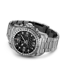 Load image into Gallery viewer, Breitling EB5010221B1E1 date, day, month, perpetual calendar, year indicator, analog and digital display