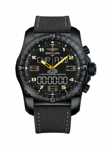 Breitling Professional Cockpit 50 Black Titanium Volcano Black VB5010A4.BD41.100W Watch