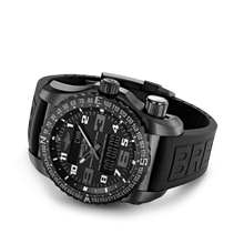 Load image into Gallery viewer, Breitling V7632522/BC46/156S/V20DSA.4 analog and digital display, date, day, month, perpetual calendar and year indicator, alarm acoustic