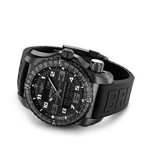 Breitling V7632522/BC46/156S/V20DSA.4 analog and digital display, date, day, month, perpetual calendar and year indicator, alarm acoustic