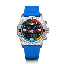 Load image into Gallery viewer, Breitling Professional Exospace B55 Yachting Titanium Carbon TwinPro Blue Folding EB5512221B1S1 Watch