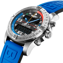 Load image into Gallery viewer, Breitling EB5512221B1S1 black dial, chronograph, countdown, flyback, rattrapante, power reserve indicator