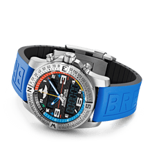 Load image into Gallery viewer, Breitling EB5512221B1S1 date, day, month, perpetual calendar, year indicator, analog and digital display