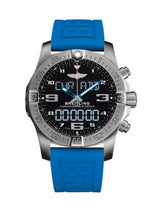 Load image into Gallery viewer, Breitling Professional Exospace B55 Titanium Volcano Black TwinPro Blue Folding EB5510H21B1S1 Watch