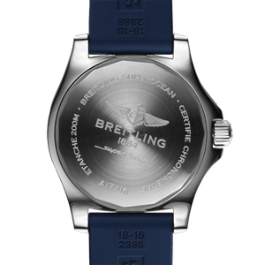 Breitling A17316D81C1S1 powered by B17 caliber, ETA 2824-2 base, made of stainless steel and sapphire glass