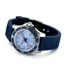Load image into Gallery viewer, Buy Sell Breitling Superocean Automatic 36 Steel Blue A17316D81C1S1 diver watch at Time Galaxy Malaysia