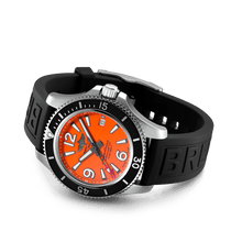 Load image into Gallery viewer, Buy Sell Breitling Superocean Automatic 42 Steel Orange A17366D71O1S1 at Time Galaxy Watch Malaysia