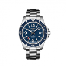 Load image into Gallery viewer, Breitling Superocean Automatic 44 Steel Blue Bracelet A17367D81C1A1 Watch