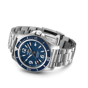 Buy Sell Breitling Superocean Automatic 44 Steel Blue Bracelet A17367D81C1A1 at Time Galaxy Watch Malaysia