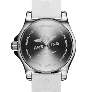 Breitling A17316D21A1S1 powered by B17 caliber, ETA 2824-2 base, made of stainless steel and sapphire glass