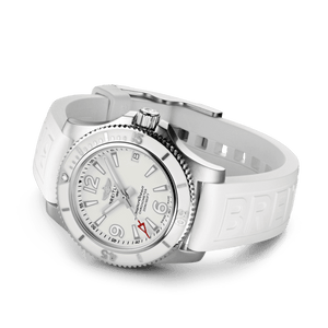 Buy Sell Breitling Superocean Automatic 36 Steel White A17316D21A1S1 diver watch at Time Galaxy Malaysia