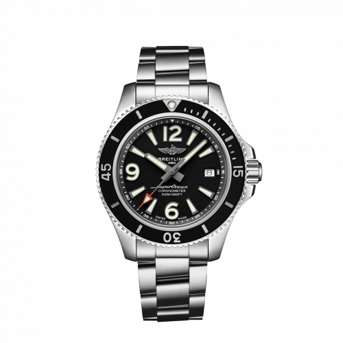 Breitling Superocean Automatic 42 Steel Black Bracelet A17366021B1A1 Watch