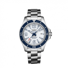 Load image into Gallery viewer, Breitling Superocean Automatic 42 Steel White Bracelet A17366D81A1A1 Watch
