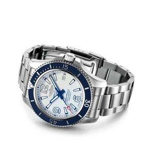 Buy Sell Breitling Superocean Automatic 42 Steel White A17366D81A1A1 at Time Galaxy Watch Malaysia