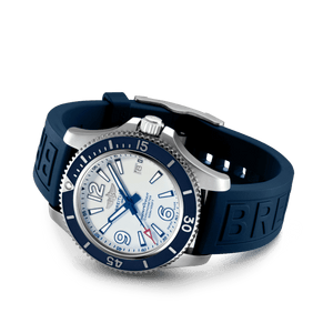 Buy Sell Breitling Superocean Automatic 42 Steel White Diver Pro III Rubber A17366D81A1S1 at Time Galaxy Watch Malaysia