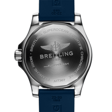 Load image into Gallery viewer, Breitling A17367D81C1S1 powered by B17 caliber, ETA 2824-2 base, made of stainless steel and sapphire glass, water resistant up to 1000 m