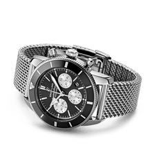 Load image into Gallery viewer, Buy Sell Breitling Superocean Heritage II B01 Chronograph 44 Stainless Steel Black Bracelet AB0162121B1A1 at Time Galaxy Watch