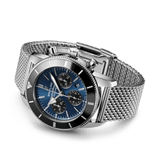 Load image into Gallery viewer, Buy Sell Breitling Superocean Heritage II B01 Chronograph 44 Stainless Steel Blackeye Blue AB0162121C1A1 at Time Galaxy Watch