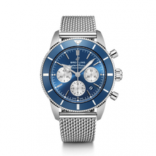 Load image into Gallery viewer, Breitling Superocean Heritage B01 Chronograph 44 Steel Blue Aero Classic Bracelet AB0162161C1A1 Watch