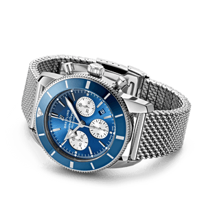 Buy Sell Breitling Superocean Heritage II B01 Chronograph 44 Stainless Steel Blue AB0162161C1A1 at Time Galaxy Watch