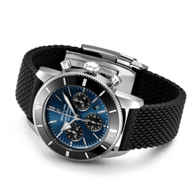 Load image into Gallery viewer, Buy Sell Breitling Superocean Heritage II B01 Chronograph 44 Stainless Steel Blackeye Blue AB0162121C1S1 at Time Galaxy Watch