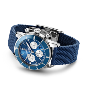 Buy Sell Breitling Superocean Heritage II B01 Chronograph 44 Stainless Steel Blue AB0162161C1S1 at Time Galaxy Watch