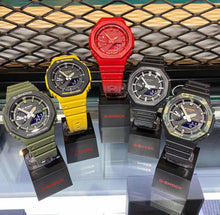 Load image into Gallery viewer, Casio G-Shock Carbon Core Guard GA-2100 Series