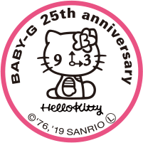 Load image into Gallery viewer, Hello Kitty watch embossed with logo