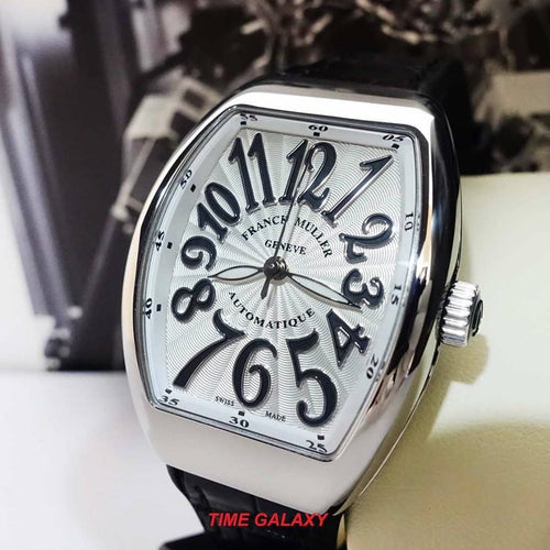 Authentic Franck Muller Vanguard Stainless Steel V 32 SC AT FO AC NR Automatic Ladies's watch