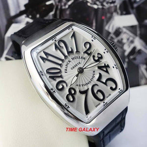 Franck Muller V 32 SC AT FO AC NR features white applique on black numerals