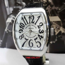 Load image into Gallery viewer, Brand New 100% Genuine FRANCK MULLER Vanguard Stainless Steel Automatic Black Leather Ladies's Watch