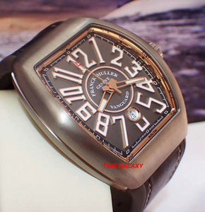 Buy, Sell, Trade Franck Muller Vanguard Collection V45 SC DT TT BR 5N at Time Galaxy
