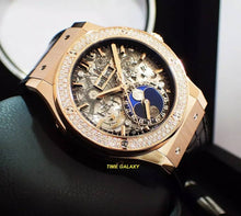 Load image into Gallery viewer, Hublot 517.OX.0180.LR.1104 Satin-finished and Polished 18K King Gold materials